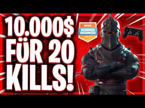 💶😱💶10.000$ FÜR 20 KILLS?!   Spannendstes Fortnite Game aller Zeiten!   Fortnite Summer Skirmish