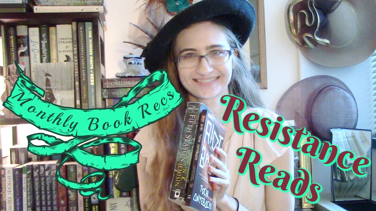 Monthly Book Recs: Resistance Reads