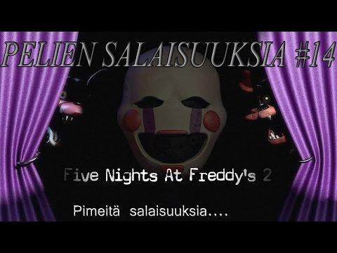 Pelien Salaisuuksia #14 Five Nights at Freddy's 2:sen PIMEÄT SALAISUUDET!