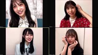 NMB48 #難波鉄砲隊 安部若菜 鵜野みずき 山本望叶 横野すみれ 2020年9月10日.