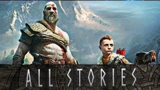 god of war every story kratos tells atreus kratos story time