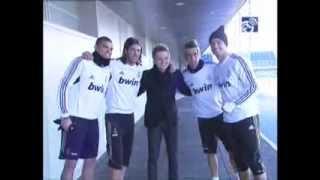 Мишель Тело посетил тренировку Реала