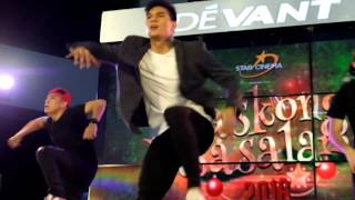 Zeus Collins Hot Dance and Flips at Star Cinema Paskong Pasasalamat