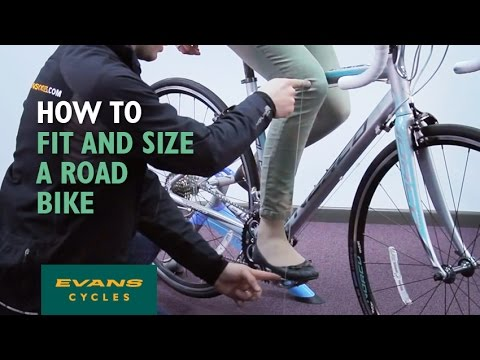How to fit and size a road bike - YouTube