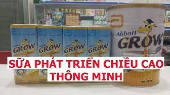 Vlog 90 Abbott Grow Gold Sữa phát triển chiều cao ,thông minh hưu cao cổ Hoa Kỳ