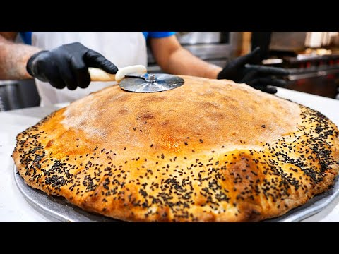 New York City Food - GIANT STUFFED PIZZA Krave It NYC