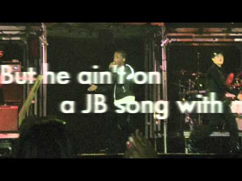 Never Say Never-Justin Bieber(with on-screen lyrics)