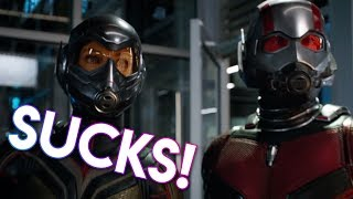 REASONS WHY ANT-MAN AND THE WASP SUCKS