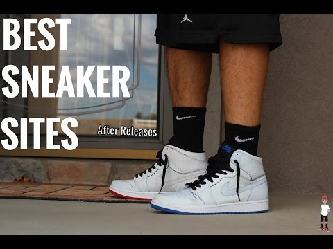 The Best Places To Buy Sneakers!