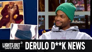 """Jason Derulo's Penis Got Cut Out of """"Cats"""" (feat. King Bach) - Lights Out with David Spade"""