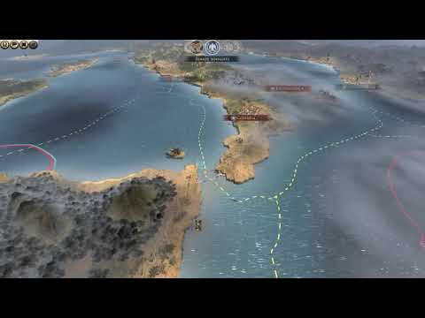 Total War  ROME 2 Civil War part 1 |