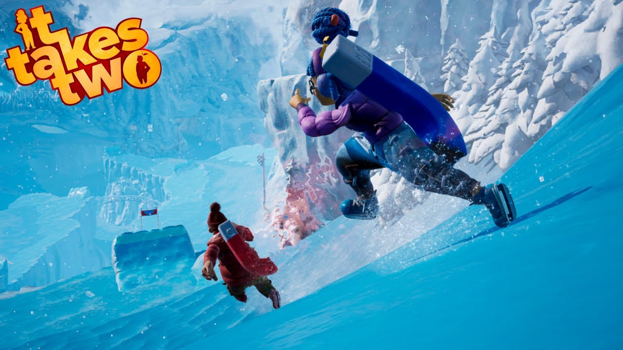La gran CARRERA de patines contra KIRSA #12 | It Takes Two Gameplay Walkthrough