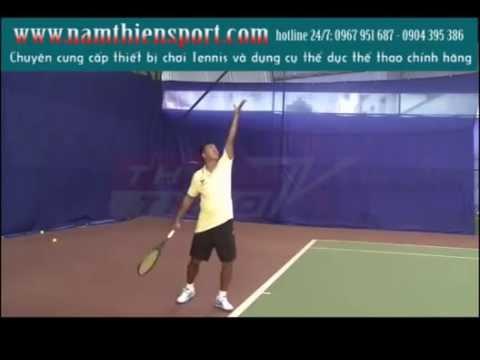 Cách giao bóng hiệu quả trong tennis - NAMTHIÊNSPORT - 04.6681.2647 - 0967.951.687