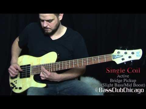 Download Youtube: Fodera Matt Garrison Standard bass Demo by Bass Club Chicago