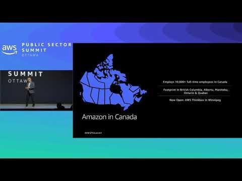 2019 AWS Public Sector Summit Ottawa Keynote