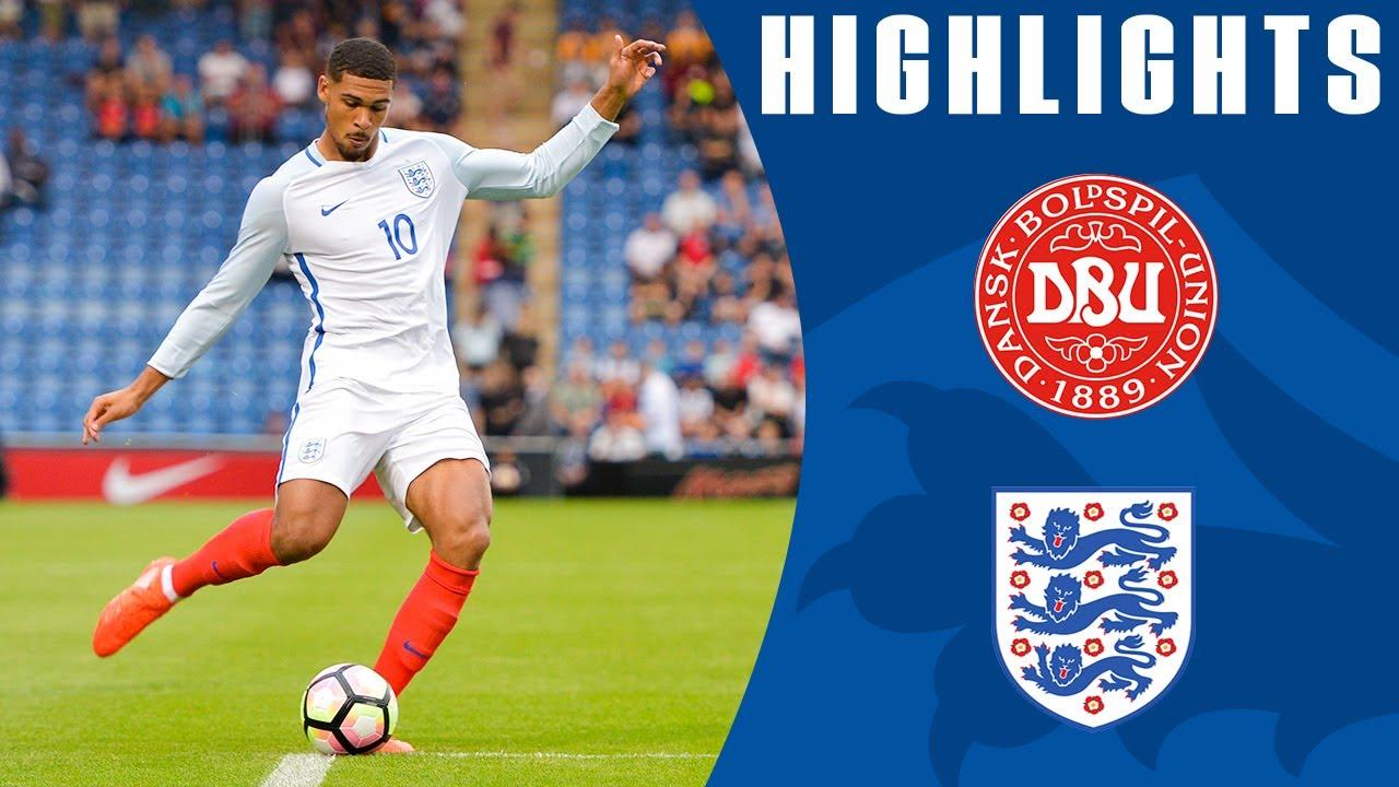 Denmark U21 0-4 England U21 | Official Highlights - YouTube