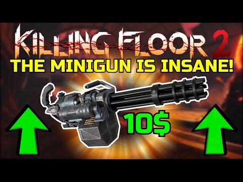 Killing Floor 2 The Minigun Is Insane Commando S New Dlc Weapon Halloween Beta 1 Youtube