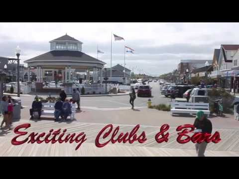 Tour of the City of Rehoboth Beach, Delaware,  Boardwalk 2017