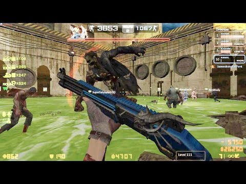 Counter-Strike Nexon: Zombies - Jack Zombie boss Fight (Hard4) online gameplay on Memories map