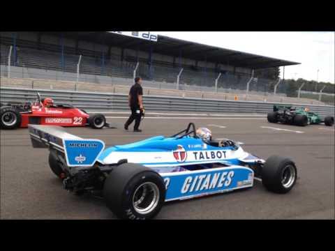 Historic F1 - Dijon Motors cup - october 2015