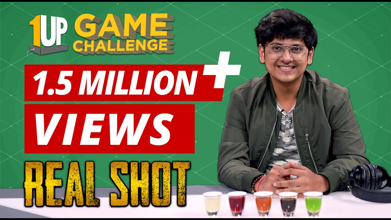 Real Sh0t Challenge with MortaL | 1Up Game Challenge | PUBG Mobile