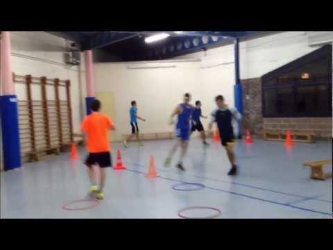 Voleibol - Preparación Física - Circuito combinado