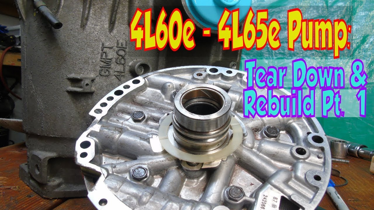 hight resolution of 4l60e 4l65e 700r4 pwm pump rebuild pt 1 of 3