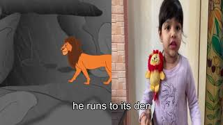 ENGLISH| RHYMES FOR CHILDREN|POEM| ROAR SAYS THE LION| NURSERY|PRE PRIMARY|ACTION SONG|EASY|3D SONG|