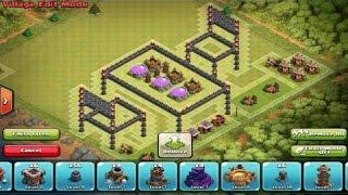Clash Of Clans 3 Boyutlu Köy Düzeni - 3d Troll Base Build