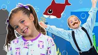 Baby Shark Dance! | ELIZA | Which Shark is Eliza? | Sing and Dance!
