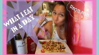 WHAT I EAT IN A DAY #1 | HEALTHY & HAPPY