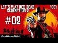 Red Dead Redemption 2 - Let's Play 100% - #2 - Agiotagem e Outros Pecados, Ellie e Level 4 do Cavalo