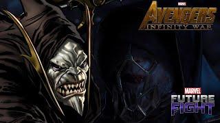 CORVUS GLAIVE UNIFORM REVIEW | Marvel Future Fight