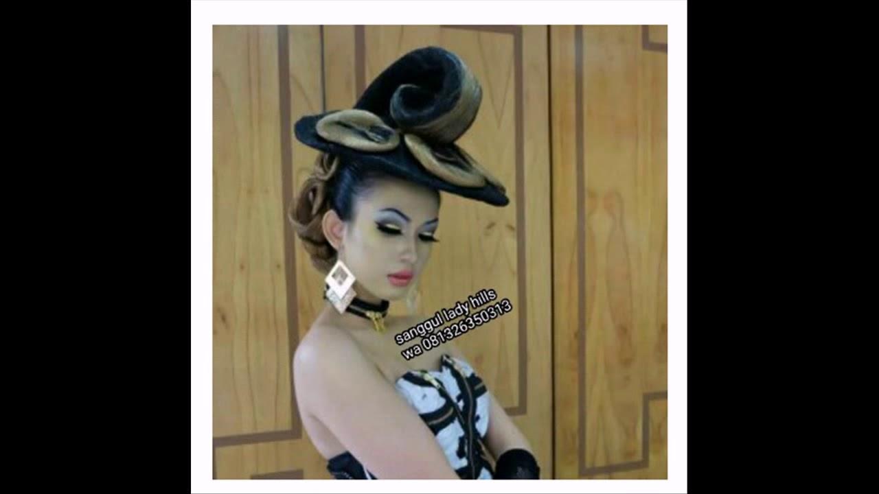 081326350313 Distributor Sanggul Rambut Pendek Di Ngamprah Youtube