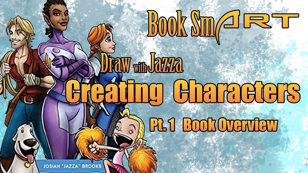 Character Design Book Jazza : Book smart draw with jazza creating characters pt