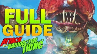 """""""ATTACK OF THE RADIOACTIVE THING"""" FULL EASTER EGG TUTORIAL GUIDE - INFINITE WARFARE ZOMBIES"""