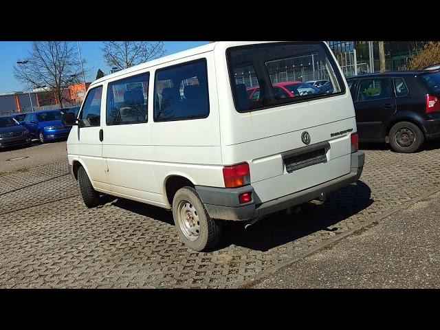 Gebrauchtwagentest VW T4