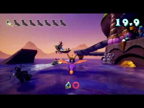Spyro 2: Ripto's Rage (Reignited Trilogy) - Part 7: Ocean Speedway