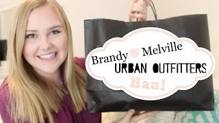 Brandy Melville & Urban Outfitters Haul♡ Thumbnail