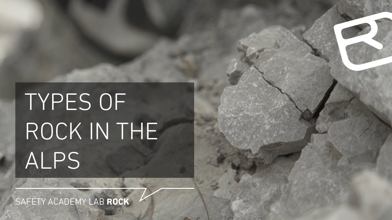 Types of rock in the Alps