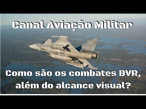 Como Funciona Um Combate BVR, Além Do Alcance Visual? Ep68