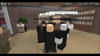 "Roblox BA vs TGG- being sent to Marcuses (Avallex- ""you will never get 5 mins with Marcuses"")"