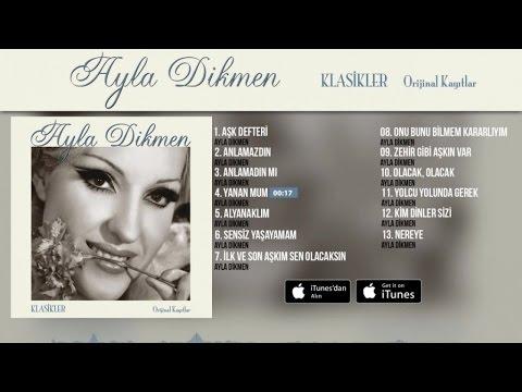 Ayla Dikmen - Yanan Mum (  Audio )