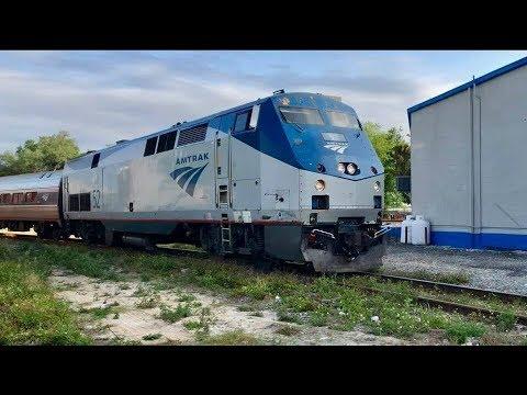 Amtrak Running On Bad Track!