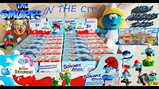 NEW 2018 KINDER SURPRISE The Smurfs in the City | Special series | Die Schlümpfe in der City!