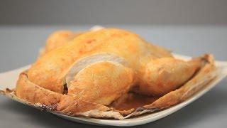 Курица, запеченная в соленом тесте - рецепт Уриэля Штерна