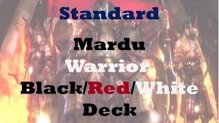 Mardu Warrior Black/Red/White Deck