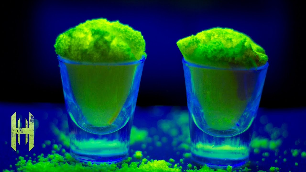How to Make Fluorescent Water Monsters Using Fluorescein