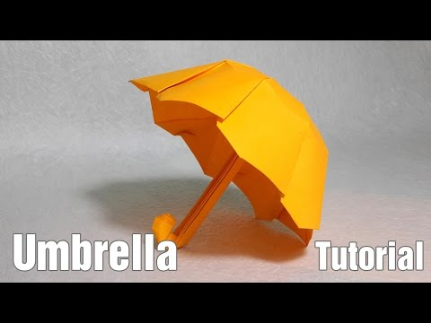 How to Make Origami Umbrella