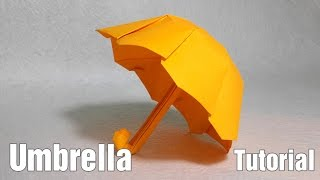 Easy Origami Umbrella tutorial - DIY (Henry Phạm)